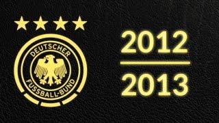 Länderspielsaison 2012/2013 - Alle Tore Deutschland