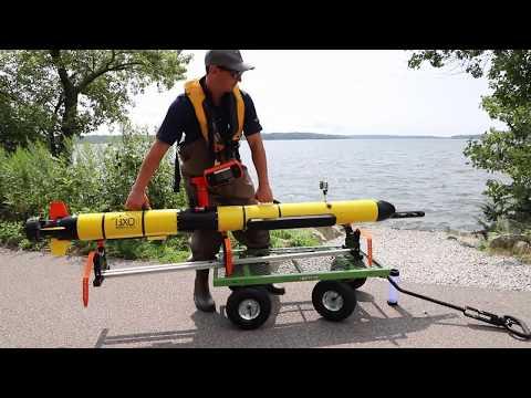 YSI i3XO EcoMapper Autonomous Underwater Vehicle Data Collection