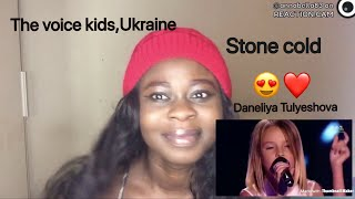 The voice kids ukraine-daneliya Tulyeshova(Stone cold)