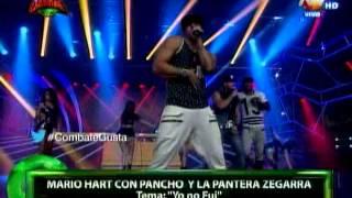 Mario Hart, Pancho Rodríguez y Pantera Zegarra presentan el tema Yo no fui