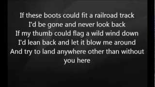 Eric Church - Without You Here with Lyrics