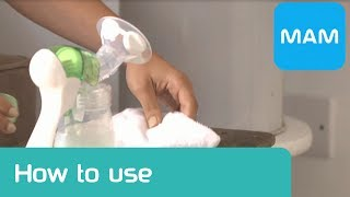 Expressing Milk: Using the Manual Breast Pump [Official MAM Video]
