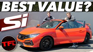 The 2020 Honda Civic Si ONLY Has A Manual Transmission, So Should You Buy It Now? Buddy Review