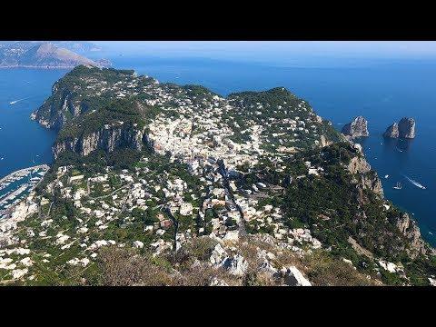Descubra a ilha de Capri em um vídeo surpreendente!