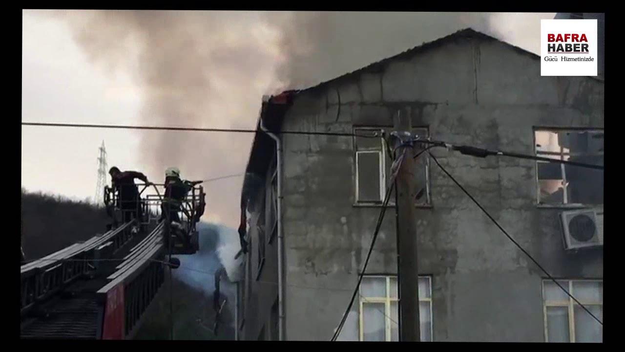 Kolay'da Ev Yangını