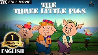 THREE LITTLE PIGS - Full Kids Movies In English | English Movie for Kids | English Cartoon