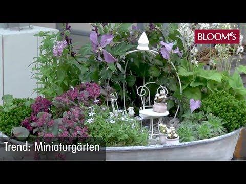 Miniaturgärten | DIY Sommerdeko | summer decoration | BLOOM's Floristik