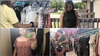 THRIFT WITH ME/TRY ON HAUL! || Plato's Closet