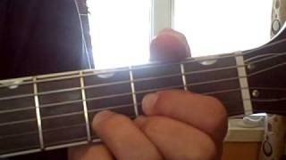 """You Really Got a Hold on Me""  Beatles version,  How to guitar lesson for beginners."