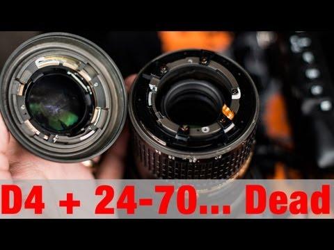 How to kill a Nikon D4 & 24-70mm f2.8
