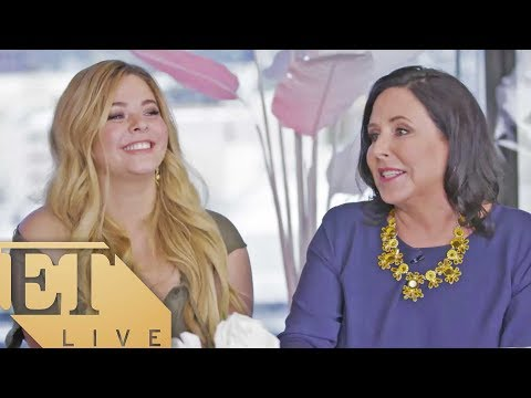 ET LIVE with Sasha Pieterse and Marlene King Chatting 'Pretty Little Liars,' Emison Wedding Rumors!