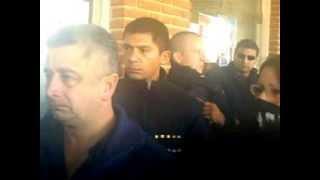 preview picture of video 'MOVILIZACION DE LOS VECINO DE NUMANCIA EN LA MUNICIPALIDAD DE GUERNICA PTE PERON'