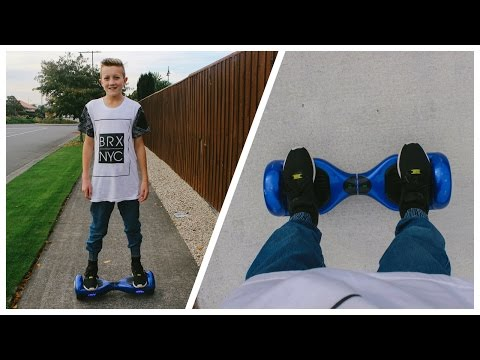 Hoverboard First Try/Review! – The Best Thing Ever!