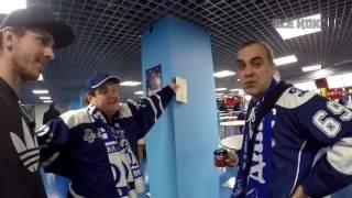 """Перед матчем """"Динамо"""" (Москва) - СКА 2016-11-09"""