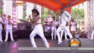 OMG! Ladia Yates vs Usher LIVE on the Today Show