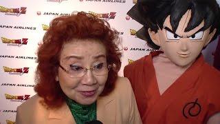 ハリウッドで「かめはめ波」!熱烈歓迎に野沢雅子も感激劇場版アニメ「ドラゴンボールZ復活の『F』」ワールドプレミア#MasakoNozawa#DragonBallZ
