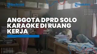 Viral Video Anggota DPRD Solo Karaoke di Ruang Kerja, Ketua DPRD Klarifikasi dan Gibran Beri Respons