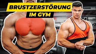 BRUSTZERSTÖRUNG im Gym | Vlog