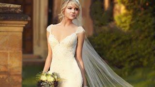 Свадебные платья и свадебные прически
