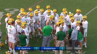 BG vs Pinkerton Boys LaCrosse Final