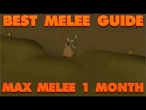 Video RuneScape 2007 - Best Melee Guide Out