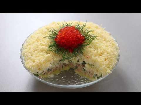 """Салат """"Солнечный Мальчик"""" ! Простой вкусный рецепт салата"""