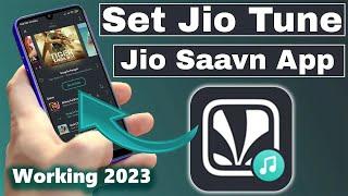 How To Set Jio Tune IN Jio Saavn App || Jio Caller Tune Kaise Set Kare Jio Saavn App Me