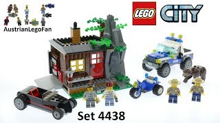 Lego City 4438 Robbers´ Hideout - Lego Speed Build Review