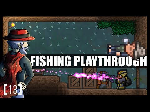 Terraria 1 3 Let's Play - Fishing Class Playthrough THE TWINS  [13] PC  Gameplay - ChippyGaming