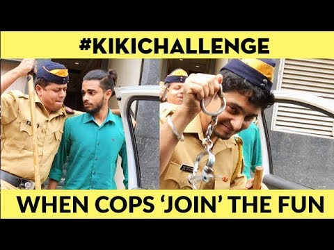 KiKi CHALLENGE (In My Feelings Challenge) : When Cops Decide To Join The Trend