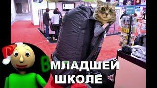 Приколы с котами с ОЗВУЧКОЙ – БАЛДИ в школе – САМОЕ СМЕШНОЕ ВИДЕО -  Domi Show