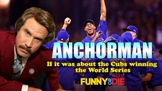 The 'Anchorman' Team Watches The Cubs Win The World Series (Mashup)
