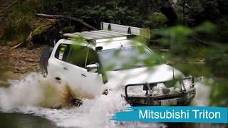 Mitsubishi Triton brake upgrade