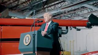 President Trump Visits Kirkwood Community College | Cedar Rapids, Iowa