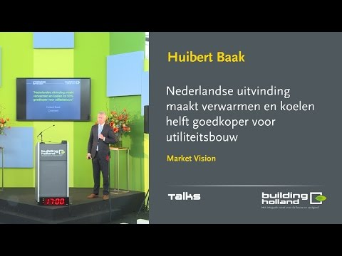 Nederlandse uitvinding maakt verwarmen en koelen helft goedkoper voor utiliteitsbouw - Huibert Baak