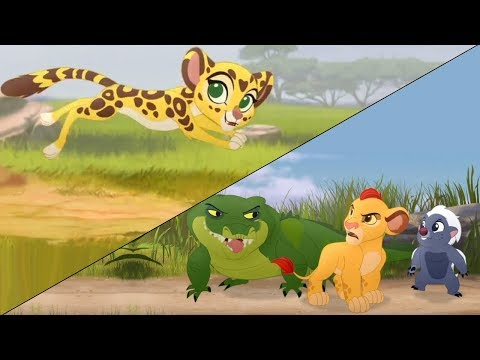 Lion Guard: BABY FULI! + Kion & Bunga meet Pua's Float | The Morning Report