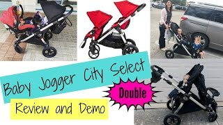 Double Stroller | Baby Jogger City Select Double Stroller Review