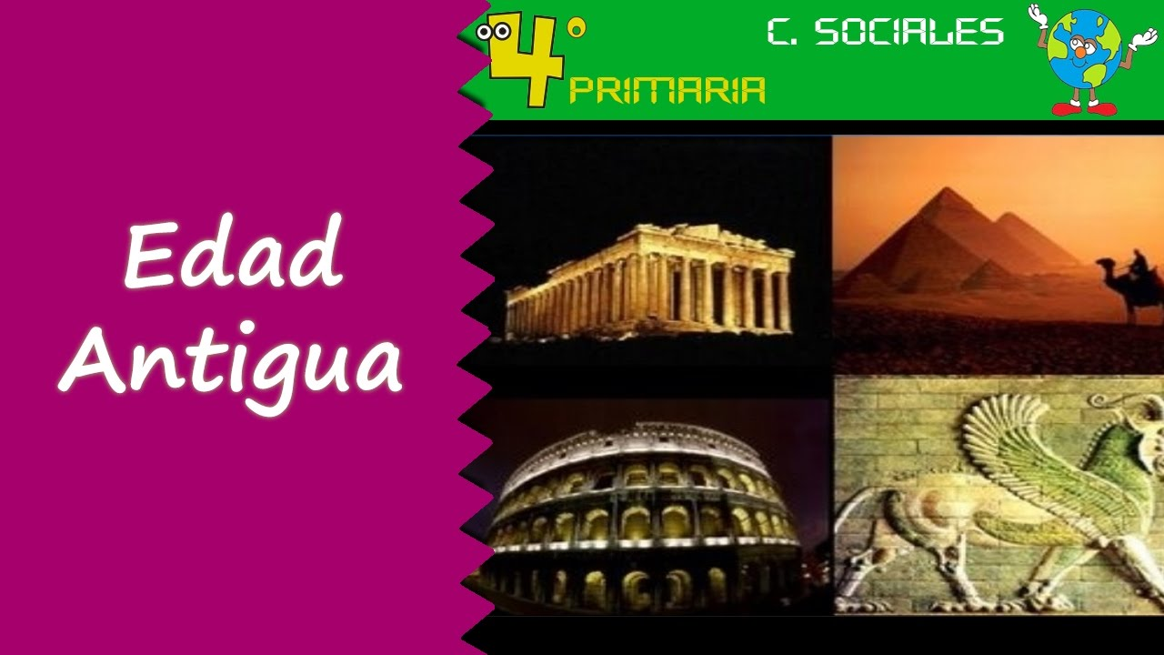 Ciencias Sociales. 4º Primaria. Tema 7. La edad antigua