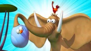 Газун новые серии | БОУЛИНГ | Мультики для детей | Gazoon funny cartoons for kids
