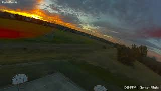 DJI FPV Sunset Flight