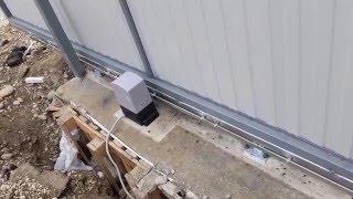 Автоматика для откатных ворот ANmotors  ASL500(2 пульта в комплекте!) 2000кг от компании VOROTA - видео