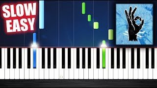 Ed Sheeran   Perfect   SLOW EASY Piano Tutorial By PlutaX