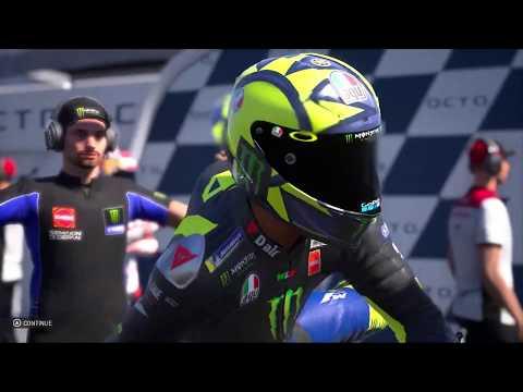 ROSSI KEMBALI JUARA!! VINALESS TERLINDAS RINS!!   RACE MOTOGP 2020   MOTOGP 19 GAMEPLAY