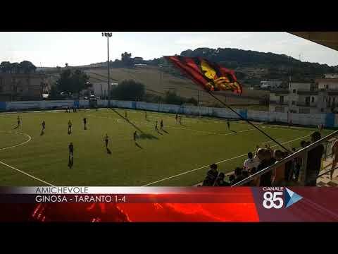 Preview video GINOSA-TARANTO 1-4 (1-0) Nel secondo tempo si distinguono anche le seconde linee del Ginosa