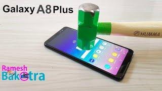 Samsung Galaxy A8 Plus Screen Scratch Test Gorilla Glass