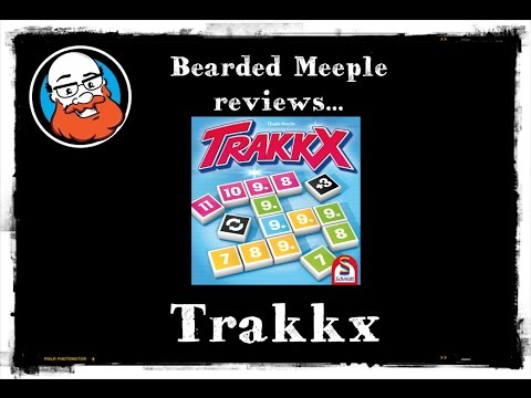 Bearded Meeple reviews Trakkx