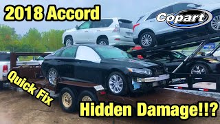 I Bought A TOTALED 2018 Accord From Copart Salvage Auction Sight Unseen and Its Worse Than I Thought
