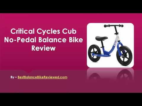 Critical Cycles Cub No-Pedal Balance Bike Review