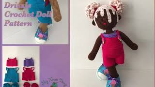 My Kinda Thing Drizzle Crochet Doll Pattern