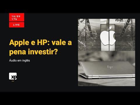Apple e HP: a maçã de U$ 2 trilhões - áudio original em inglês